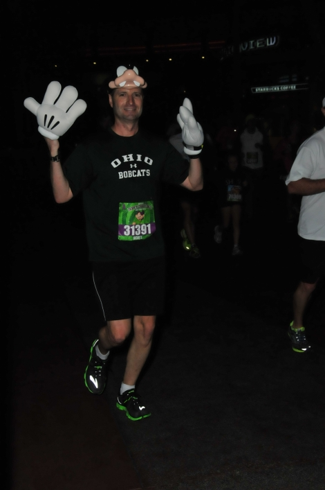 Yes, I started and finished the race before the sun came up.